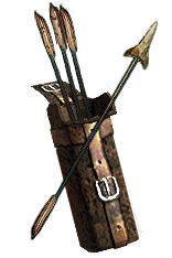 Sharktooth Arrow Quiver