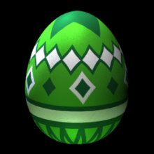 Argyled Egg