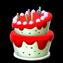 Rocket League Purple Birthday Cake Price On PS4