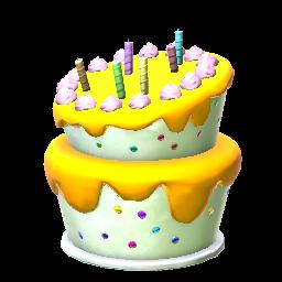 Rocket League Birthday Cake Trading Price Index On Xbox One