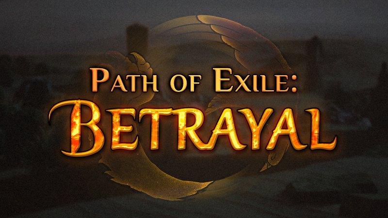 Path Of Exile Update 3 5 1B/C Patch Notes: Betrayal Bugs