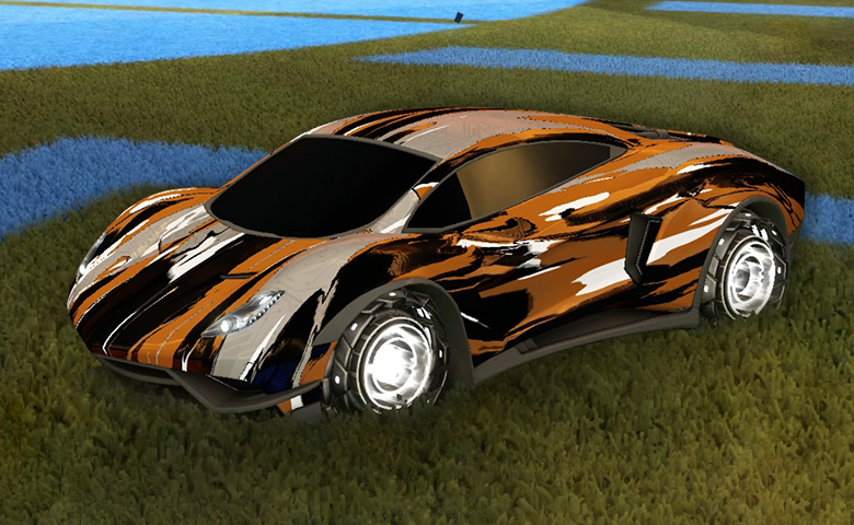 Rocket league Endo design with Rocket Forge II,Streak Wave