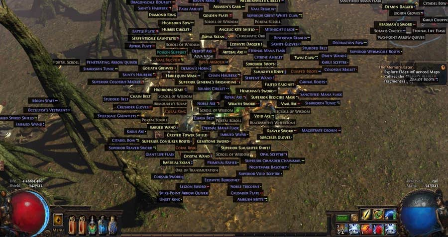 path of exile loot filter 3.5 guide