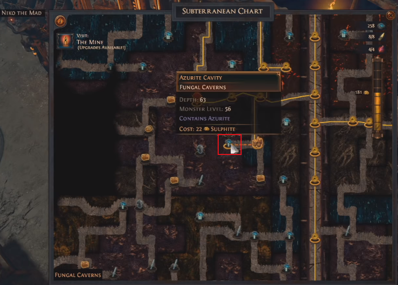 Path Of Exile Delve Guide - How To Unlock Hidden Areas Behind