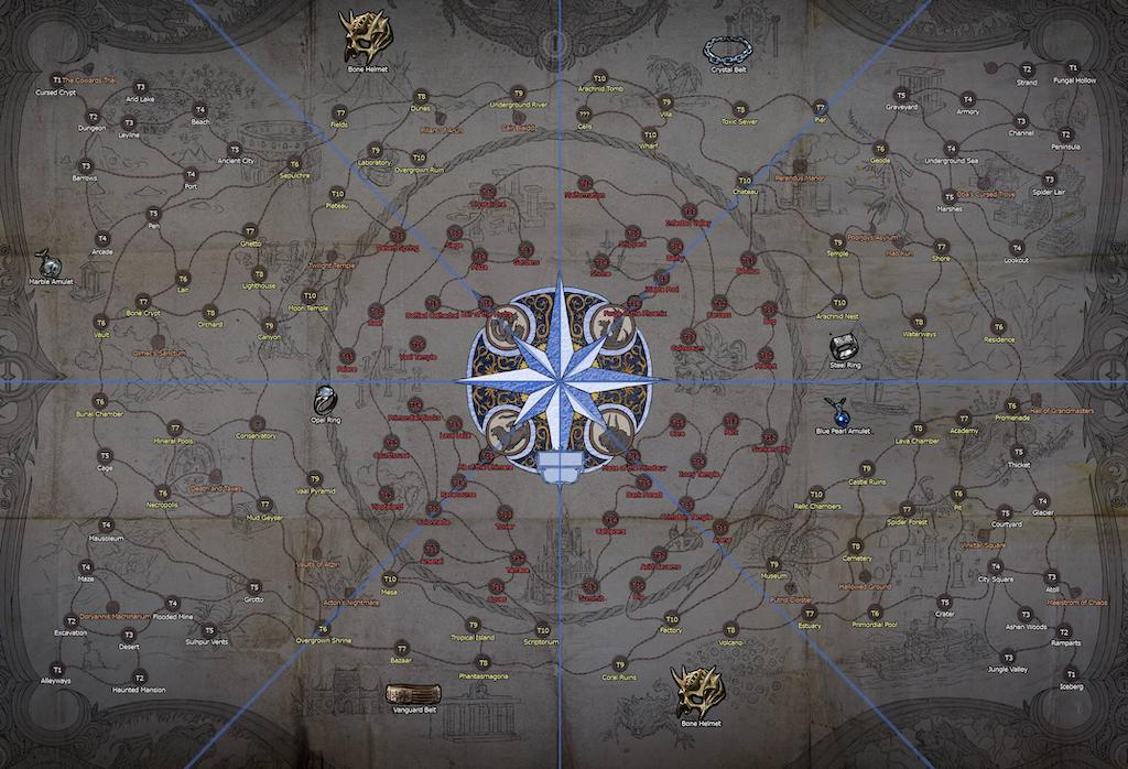 Path of Exile 3.6 Synthesis Updated Atlas Maps