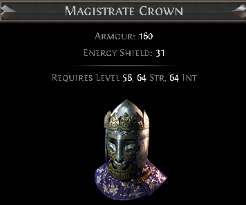 Magistrate Crown