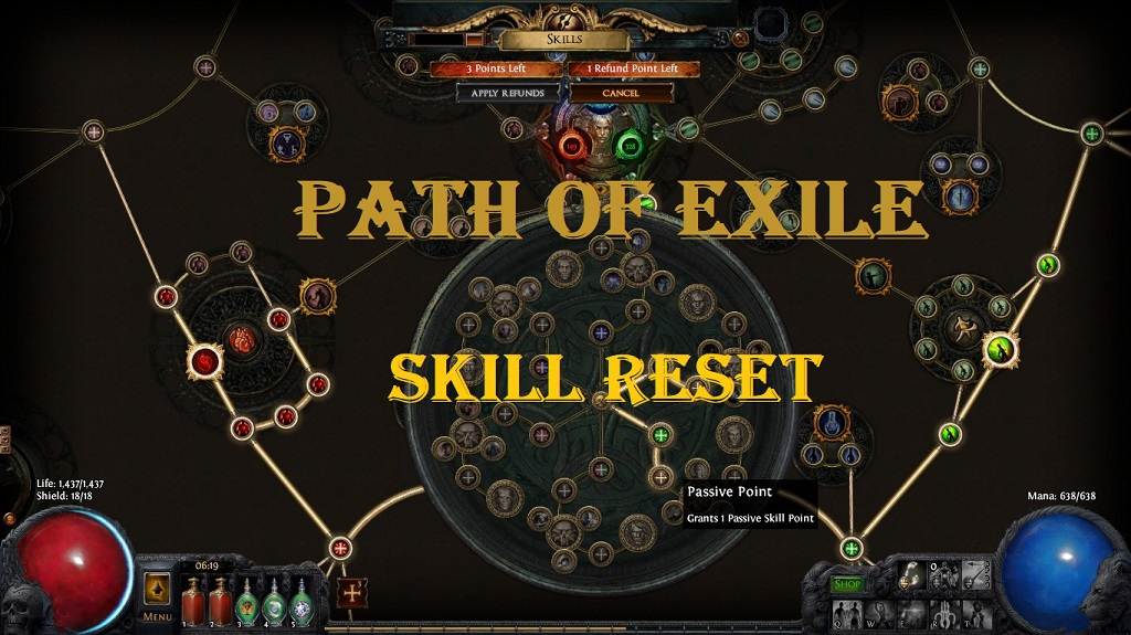 Path Of Exile 3 6 Reset Skill Tree (2019) - Best Ways To