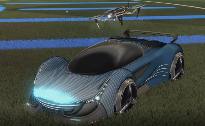 Rocket league Nimbus design with Zowie,Future Shock,Drone III
