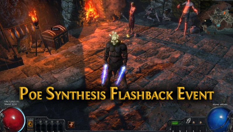 poe synthesis flashback event