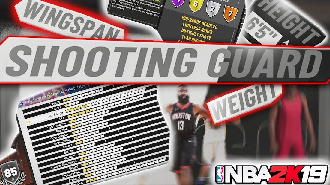 Nba 2K19 Best Shooting Guard Builds Guide & Tips