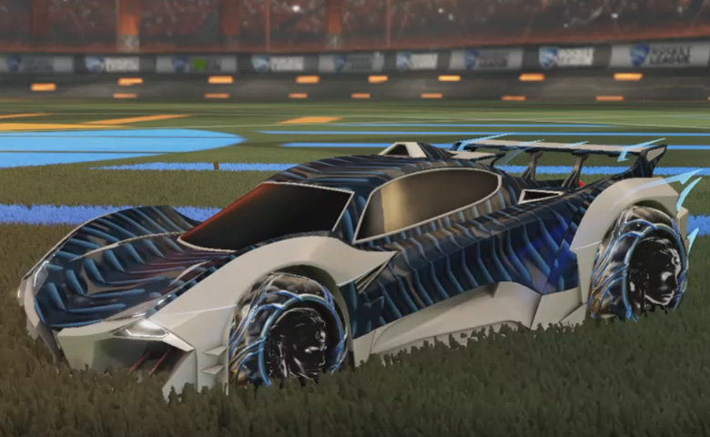 Rocket league Guardian GXT Grey design with Ved-ava II,Intrudium