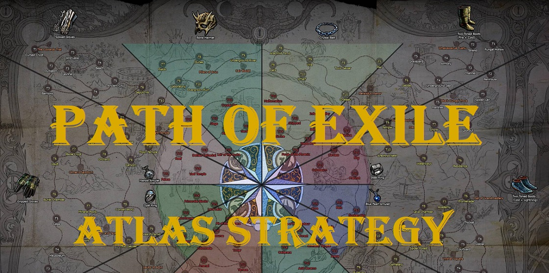 path of exile atlas strategy guide (2019) - best shaper & elder map tips