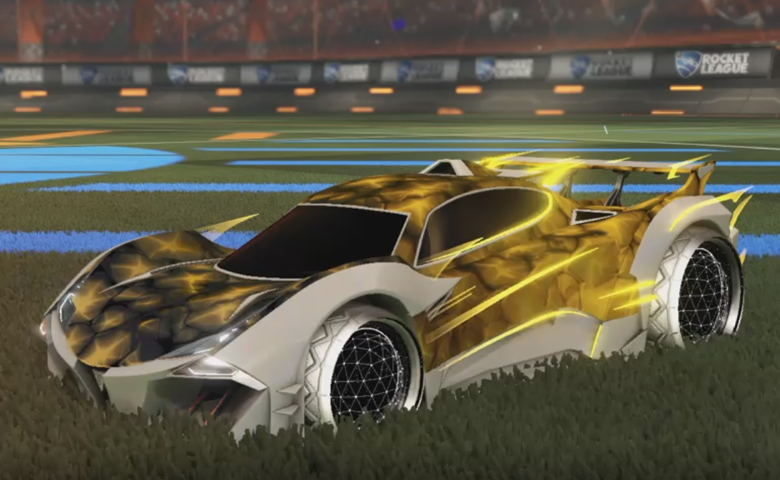 Rocket league Guardian GXT Grey design with Celestial II,Chameleon