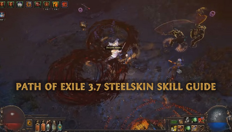 Path Of Exile 3 7 Legion Steelskin Skill Guide - Best New Skill For
