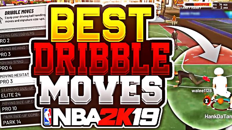 Nba 2K19 Best Dribble Moves Tutorial - Top 5 Dribble Moves