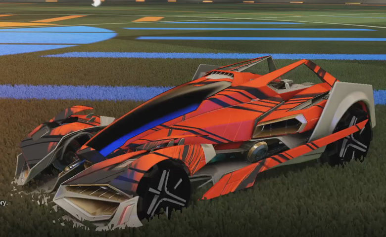 Rocket league Artemis GXT Grey design with Metalwork,Slipstream