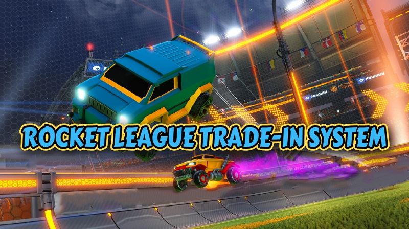 Rocket League trade-in system