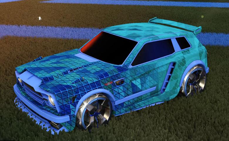 Rocket League Trigon Designs For All Rl Battle Cars - Goldkk Com