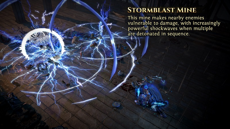 Path of Exile 3.8.0 Blight League - Mine Saboteur Ascendancy & Stormblast Mine