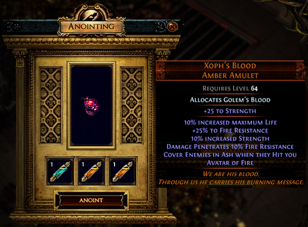 Path of Exile 3.8.0 Expansion (POE 3.8 Blight League) - Enchant Items