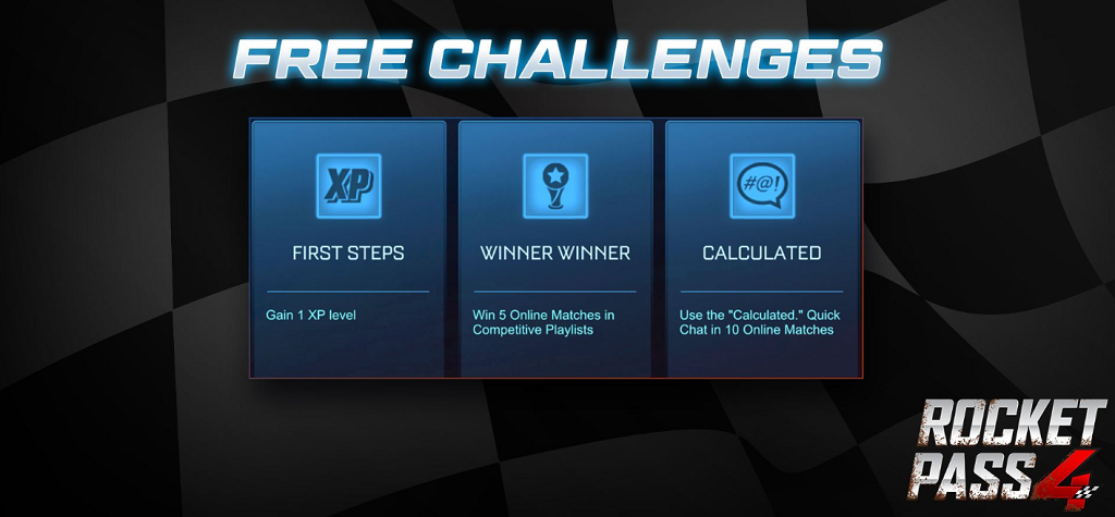 Rocket League Rocket Pass 4 Free & Premium Rewards | Fast To