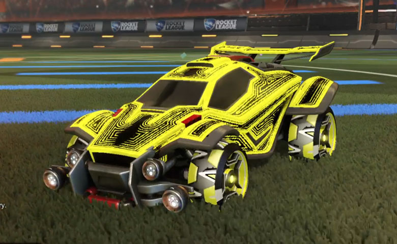 Rocket league Octane ZSR design with Petacio,Labyrinth
