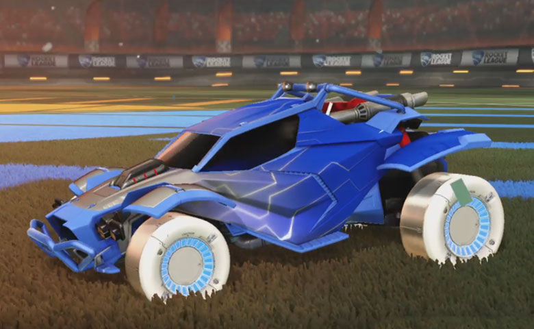 Rocket league Twinzer Cobalt design with Jandertek,Mainframe