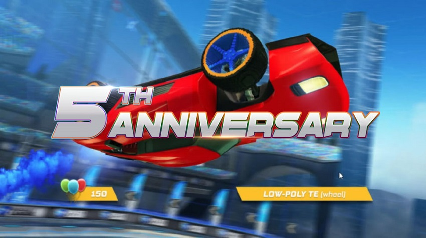 Rocket League new anniversary event