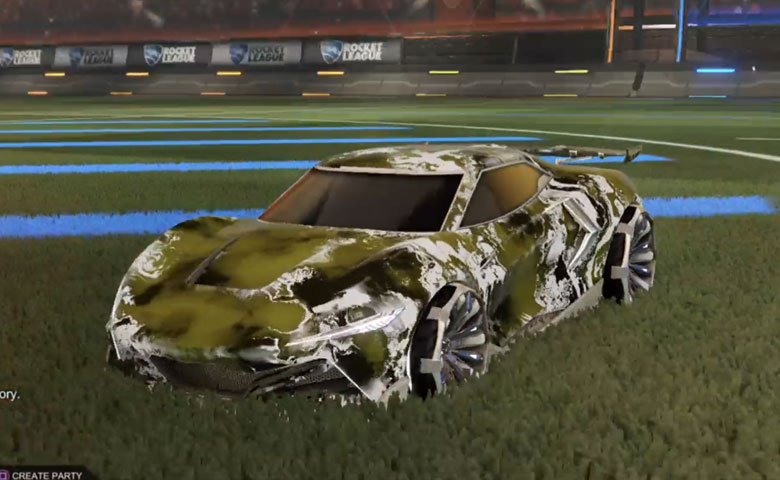 Rocket league Peregrine TT Grey design with Grappler,Fire God