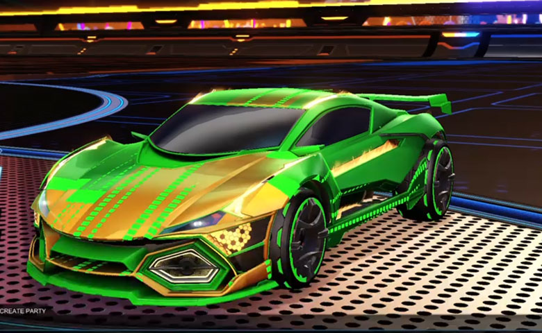 Rocket league R3MX GMT Forest Green design with Ault-SPL,EQ-RL