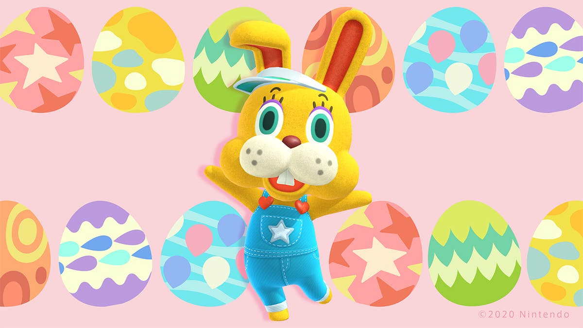 Animal Crossing New Horizons Bunny Day Easter Event