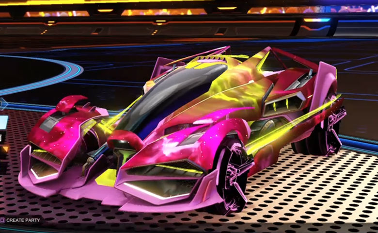Rocket league Artemis GXT Pink design with CNTCT-1: Infinite,Interstellar