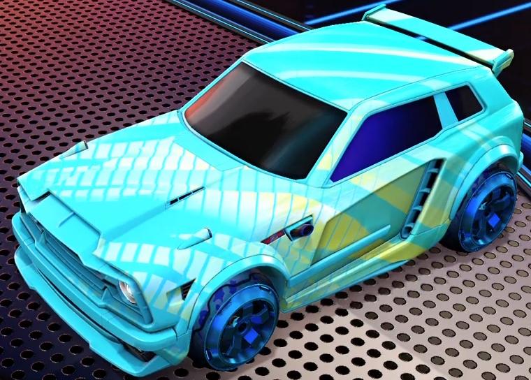 Rocket League Fennec Design 1