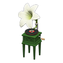 ACNH Lily Themed Items - Lily record player