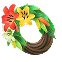 ACNH Lily Themed Items - Lily wreath