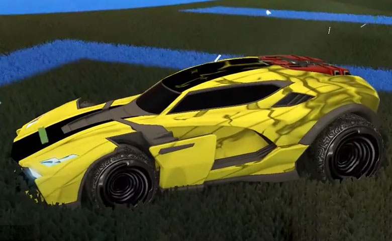 Rocket league Breakout Type-S design with Hypnotik,Spectre
